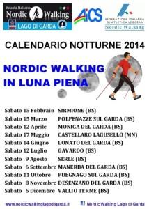 Calendario 2014 uscite Luna Piena