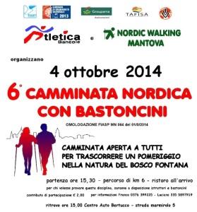 Camminata Boscofontana 4 ott 2014