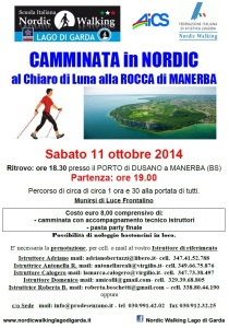 Rocca Manerba Notturna 11 Ottobre 2014