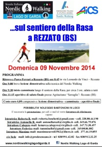 Camminata Rezzato 9 novembre 2014
