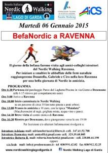 BefaNordic a Ravenna 6 gennaio 2015