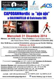 CAPODANNordic a Calcinatello 31 Dicembre 2014