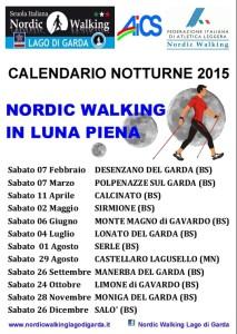 calendario 2015 Uscite Luna Piena