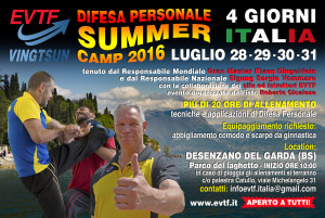 Cartolina Summer Stage Desenzano 2016 fronte ita